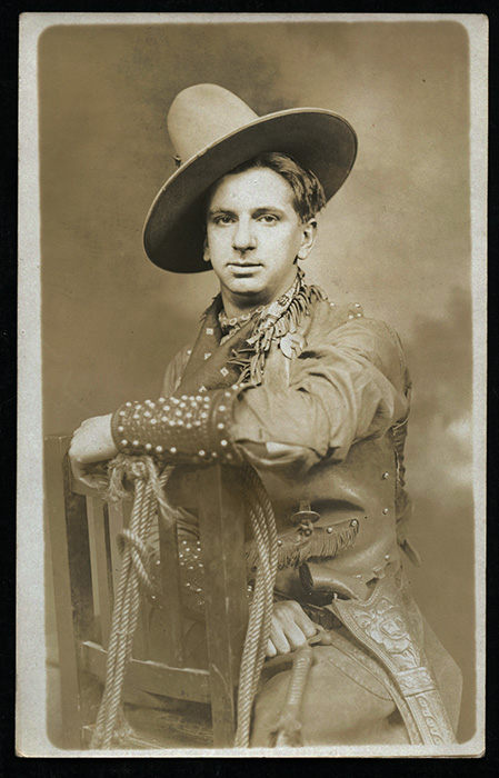 a47f5281bdb4a Great 1910 s RPPC.  Cowboy  w  6-Shooter