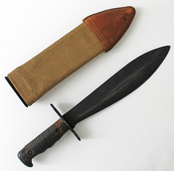 Great 1918 Dated Us Army Model 1917 Bolo Knife By Plumb