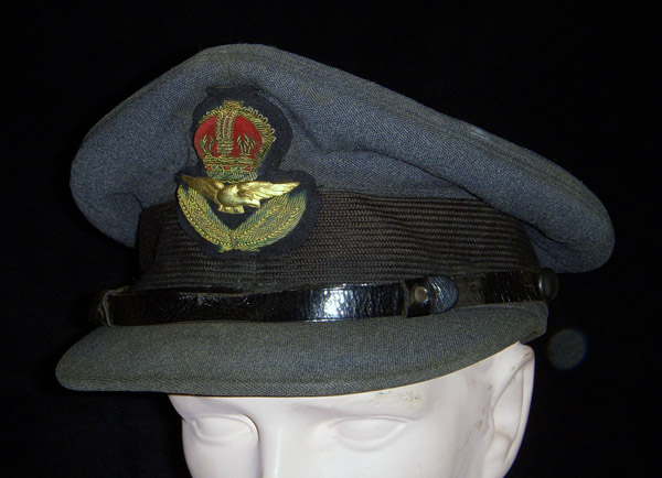 SOLD!!! 1930s-WWII Royal Air Force (RAF) Officer's Visor Cap with ...