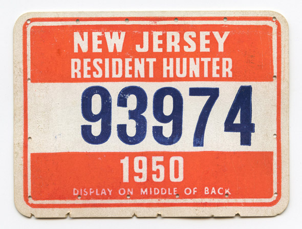 Flying tiger antiques online store vintage 1950 new for New jersey fishing license