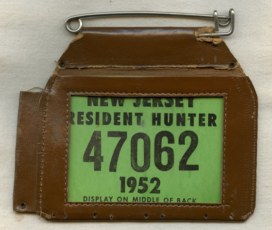 Flying tiger antiques online store vintage 1952 new for New jersey fishing license