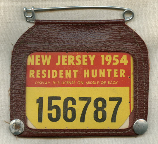 Flying tiger antiques online store vintage 1954 new for New jersey fishing license
