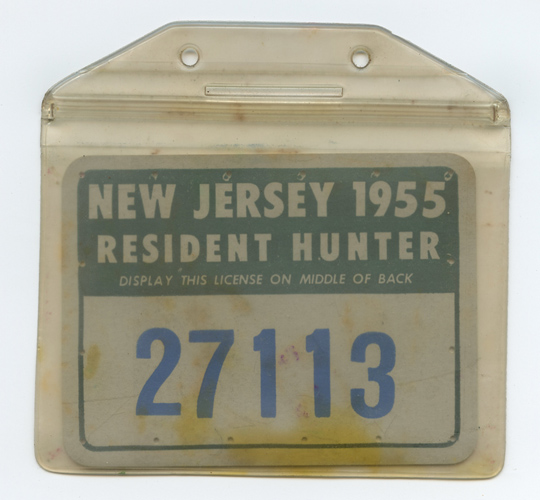 Flying tiger antiques online store vintage 1955 new for Nj fishing license online