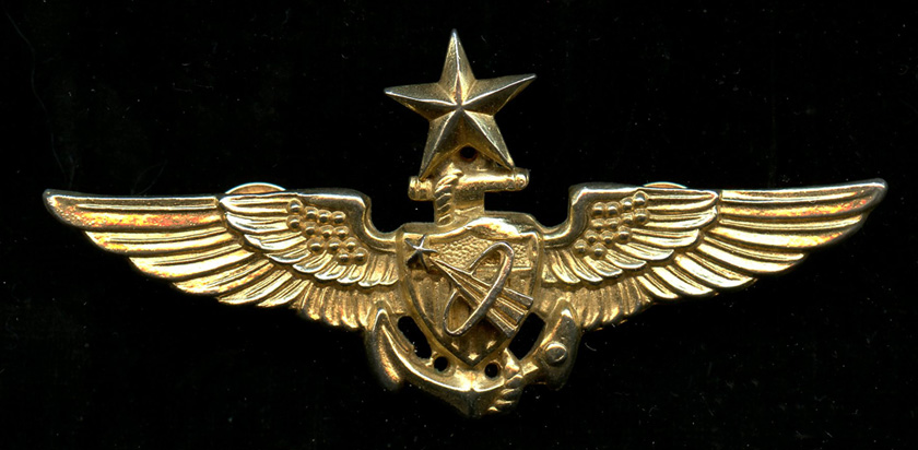 Flying Tiger Antiques Online Store: Sr. Naval Astronaut Wings as ...