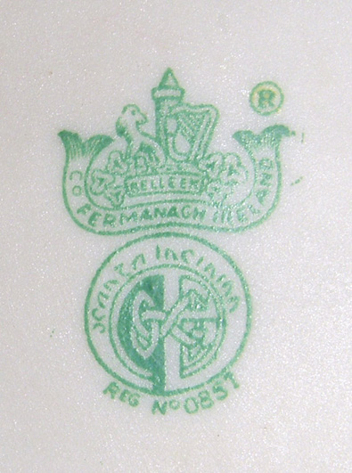 belleek marks dating Find out more information about the date and mark of your belleek item(s).