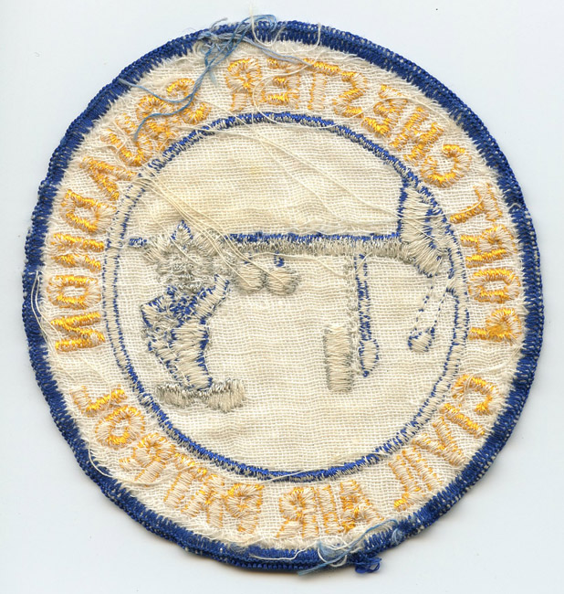 Extremely Rare Korean War Era CAP Port Chester Jacket Patch with
