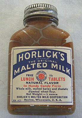 1920's era Horlicks bottle