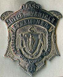 Flying tiger antiques online store miscellaneous police for Massachusetts registry of motor
