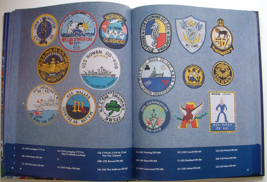 Flying Tiger Antiques Online Store 1992 Patch Guide Us Navy Ships