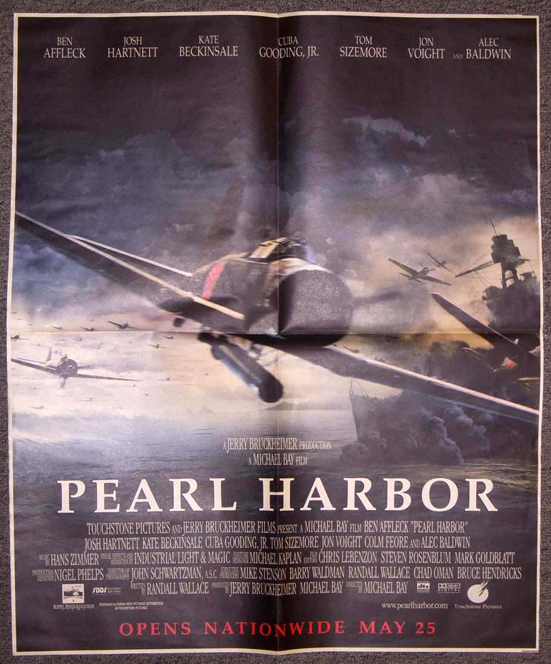 pearl harbor movie essay Pearl harbor essays: the film also encompassed another story line that focused away from the actions of the attack on pearl harbor and gave the film more than.