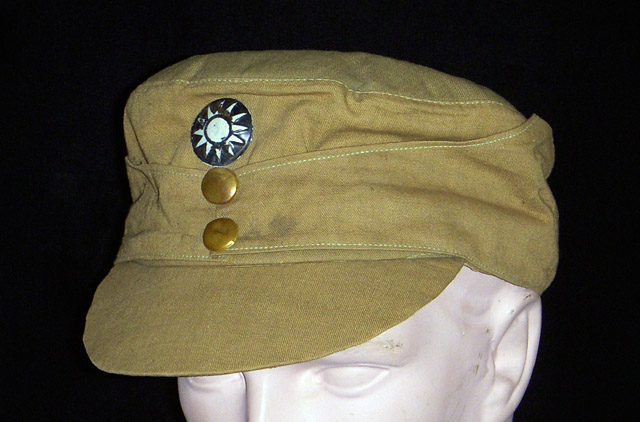 Rare Wwii Chinese Army Quot M 43 Quot Hat Used By And Named To Gi