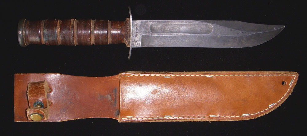 Flying Tiger Antiques Online Store: Ca  1943 USMC Blade Marked