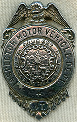 Flying tiger antiques online store police law for Vermont motor vehicle laws