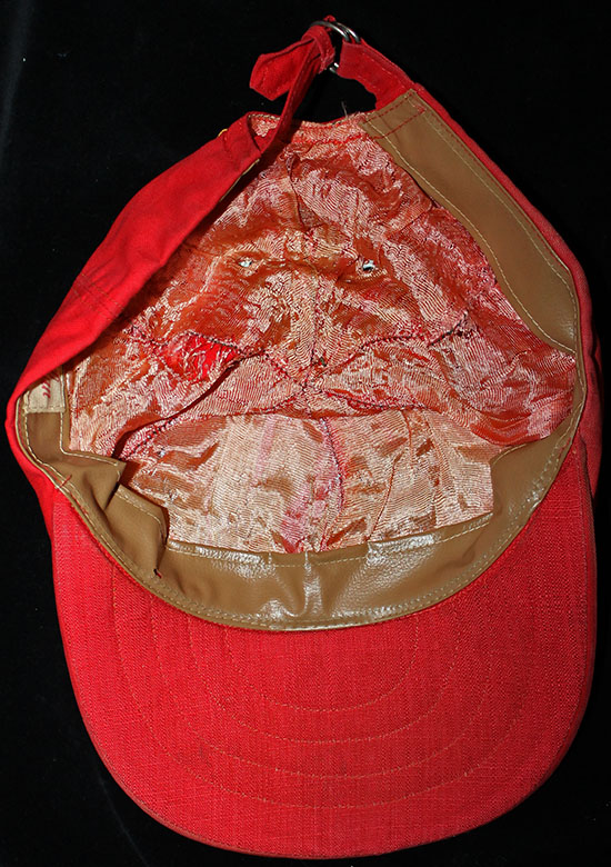 97a4b4565d653 ARTIFACT  Unusual Saigon Country Club novelty Vietnam War Era baseball cap.  The red cap features a nicely embroidered front that shows a pair of  crossed ...
