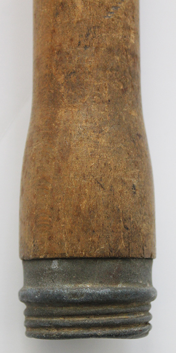 Scarce Early WWII 1940 Dated Wehrmacht Practice Stick Grenade