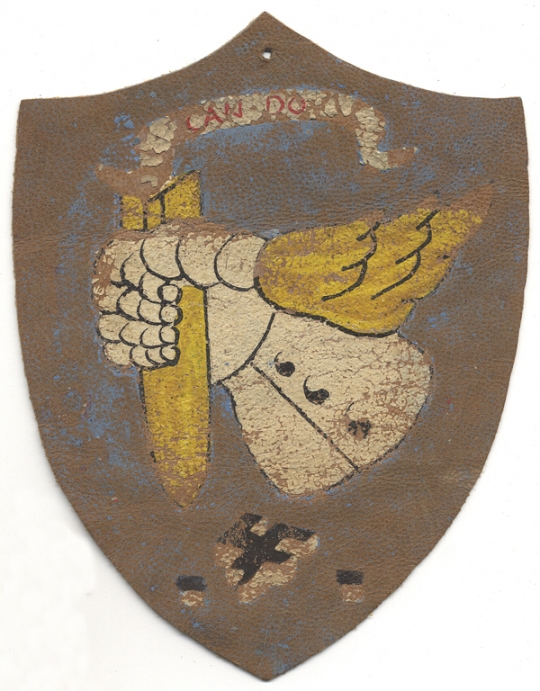 WWII USAAF 305th Bomb Group, 8th Air Force Jacket Patch Hand Painted in England
