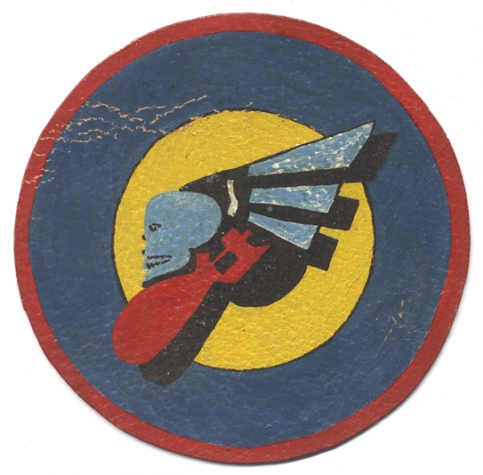 WWII USAAF 366th Bomb Squadron, 305th Bomb Group, 8th Air Force D Day Jacket Patch