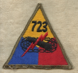 babfba259e33c Scarce WWII US Army 723rd Armored Field Artillery