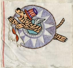 5b790dc07e8e9 Rare Early WWII 23rd FG CATF Patch of 5 Kill Ace   Eventual Maj. General