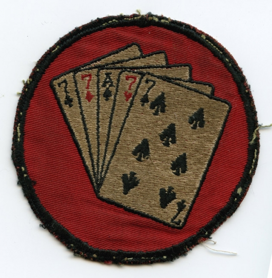 778ffb50e Early 1950s USAF 77th Fighter-Bomber Squadron Jacket Patch in Twill ...