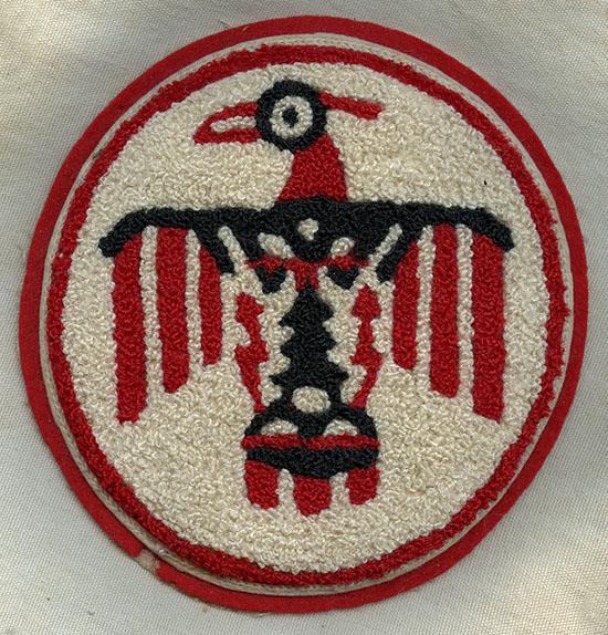 Wonderful, Huge WWII USAAF Thunderbird Field Flight