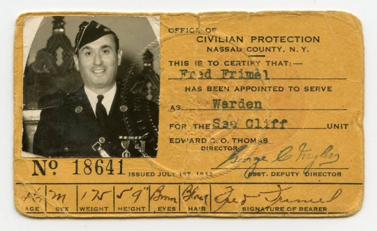 New Of York Protection Early Flying Online Antiques Civil Office Warden Raid Store From Id Nassau Air Co Card Tiger Wwii