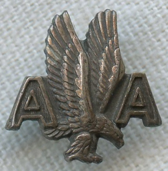 1950s American Airlines 5 Year Sterling Service Pin