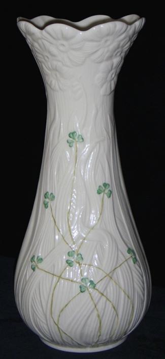 Belleek 1932 Daisy Vase Tall