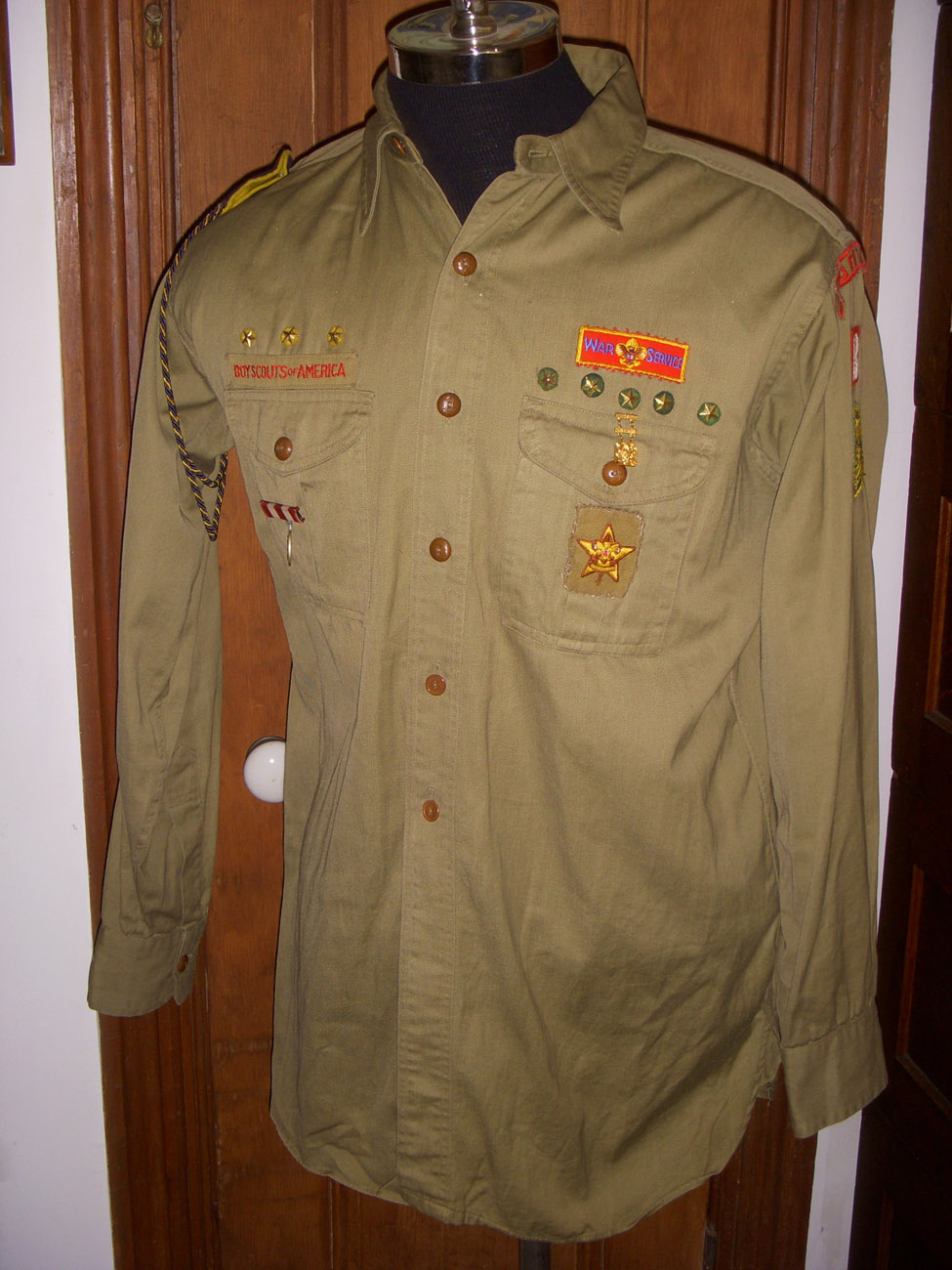 Great Wwii Boy Scouts Of America Bsa Official Uniform
