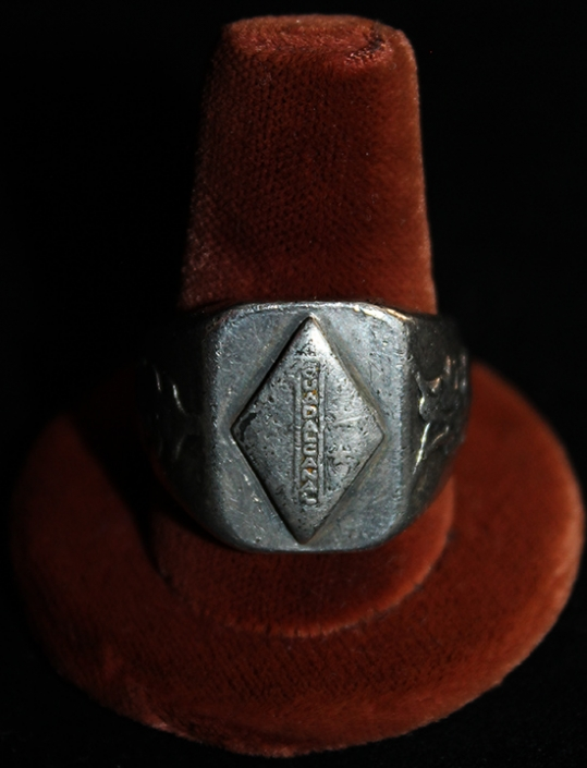 Great, Salty Ca  1946 China-Made USMC 1st Division Silver Ring