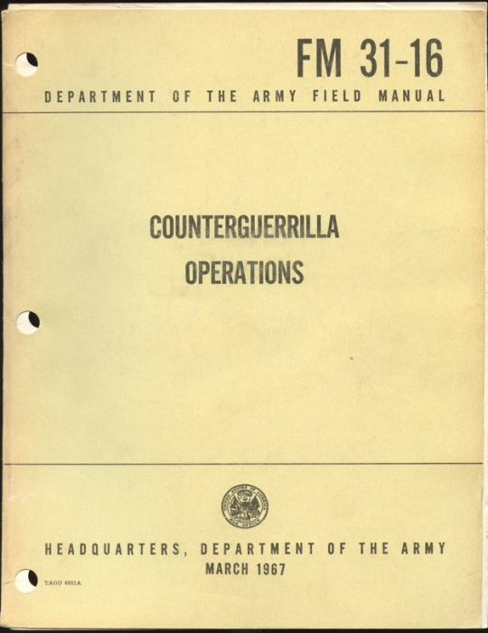 USMC Marines Manual - Counterguerrilla Ops