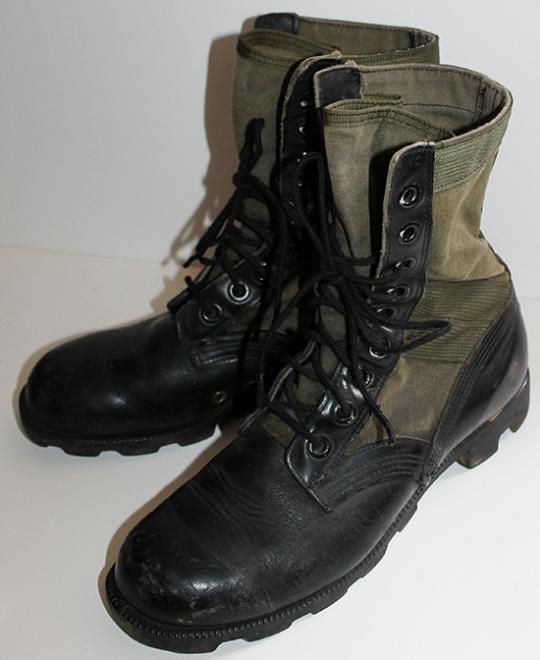 Military M1966 Jungle Boots Sz 7