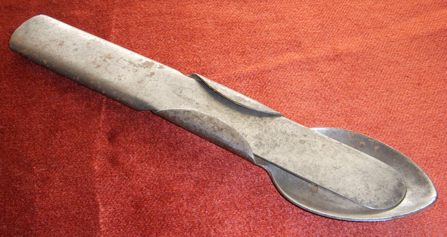 Ext Rare Civil War Union Mess Kit Fork Knife Amp Spoon