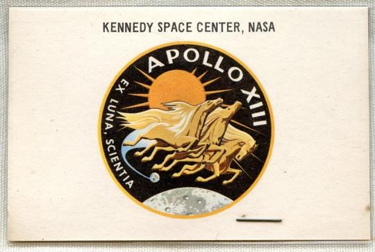 Rare NASA Kennedy Space Center APOLLO 13 Launching Special