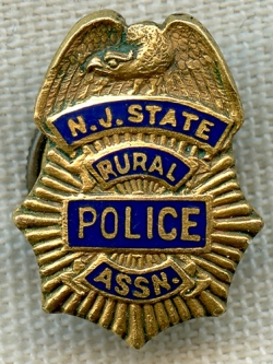 Mini Police Badge Shield St Louis Missouri Small Hat Lapel Pin New
