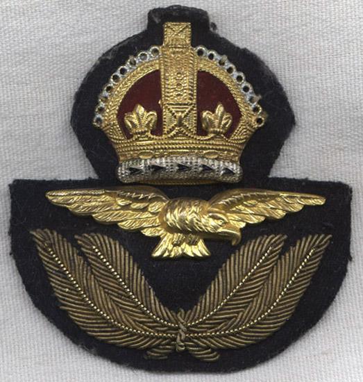 Variant Wwii Raf Royal Air Force Rcaf Raaf Cap Badge