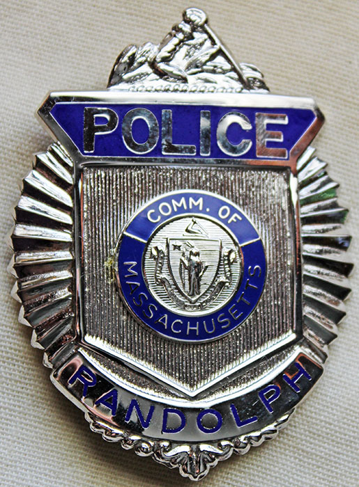 Minty 1990's - 00's Randolph, Massachusetts Police Badge by