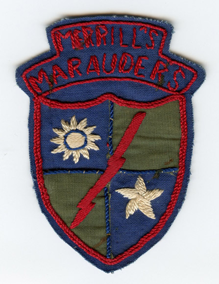 Uwi-0090 wwii us merrill's marauders patch patches and insignia.