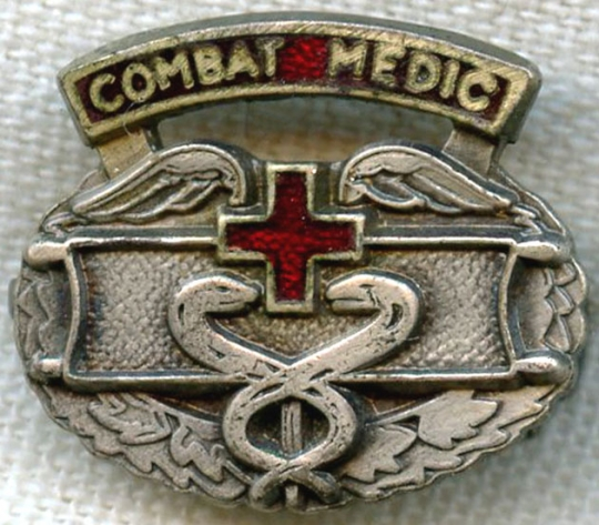 Great Wwii Combat Medic Lapel Pinp No Longer Available Flying