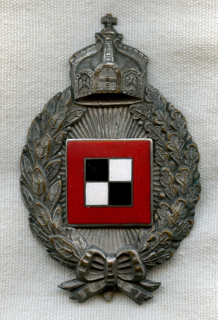 Wwi Imperial German Prussian Aviation Observer Badge Made